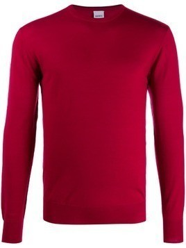 Aspesi crew neck jumper - Red