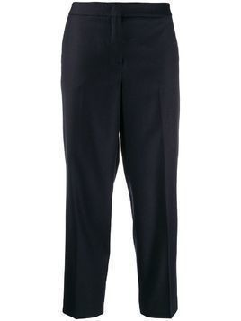Fabiana Filippi slim cropped trousers - Blue