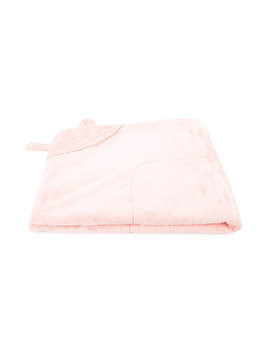 Miki House animal ears baby blanket - Pink