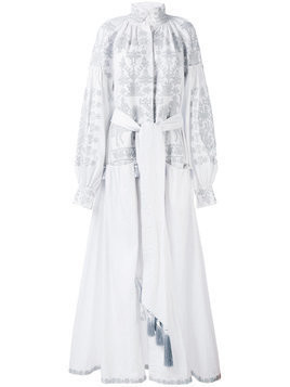 Yuliya Magdych 'Litopys' dress - White