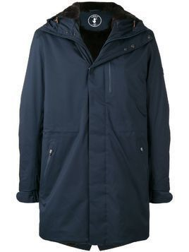 Save The Duck hooded raincoat - Blue