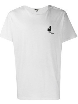 Isabel Marant chest logo T-shirt - White