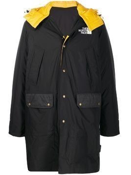 The North Face Black Label reversible hooded two tone coat
