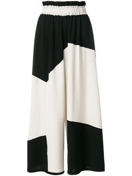 Henrik Vibskov Fab colour block palazzo trousers - Black