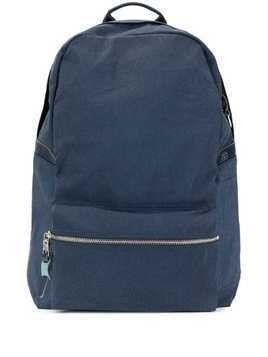 As2ov front zip backpack - Blue