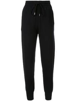 Markus Lupfer tapered-leg knitted joggers - Black