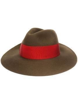 Borsalino wide brim hat - Brown