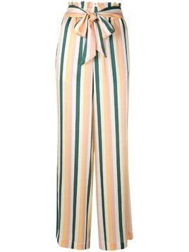 Asceno striped palazzo pants - Yellow