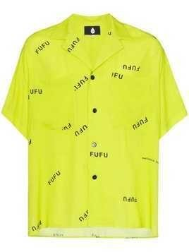 Duo printed short sleeve shirt - Yellow