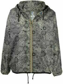 10 CORSO COMO hooded graphic-print jacket - Grey