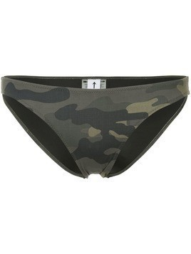 The Upside camouflage bikini bottoms - Multicolour