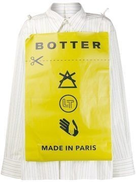 Botter Care Label patch shirt - Green