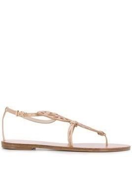 Sophia Webster Bibi Butterfly Stud sandals - Neutrals