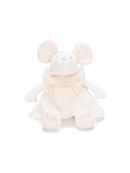 ChloéKids mouse stuffed animal - White