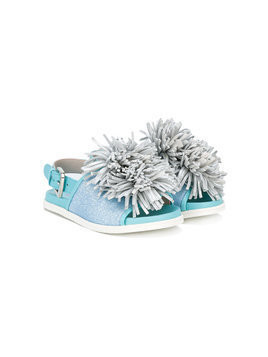 Minna Parikka Kids Cheerleader sandals - Blue