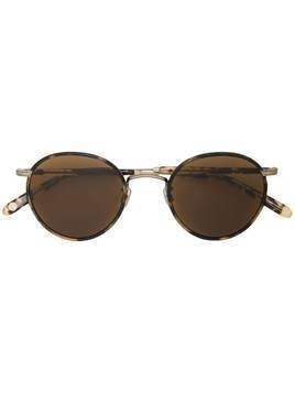Garrett Leight Wilson round frame sunglasses - Brown
