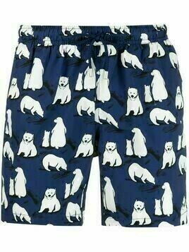 Bluemint polar bear print swim shorts