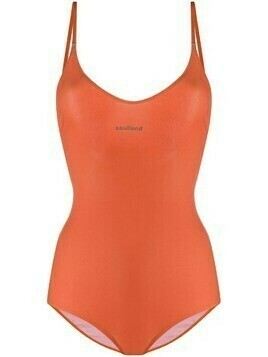 Soulland Adel stretch swimsuit - ORANGE