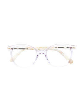 Chloé Kids round frame glasses - Pink & Purple
