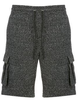 Onia Justin Speckle cargo short - Black