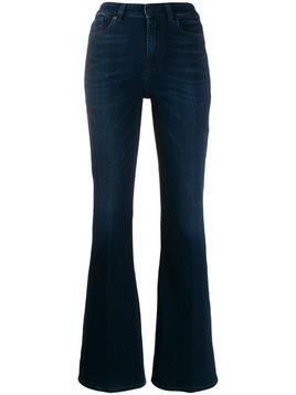 7 For All Mankind flared denim trousers - Blue