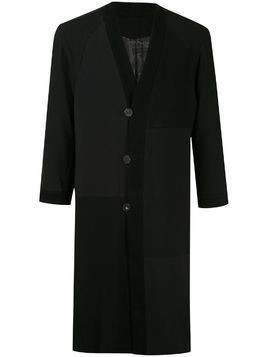 Devoa long line jacket - Black