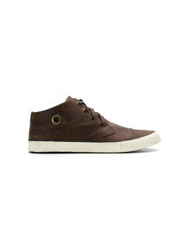 Osklen leather sneakers - Brown