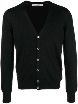 La Fileria For D'aniello v-neck cardigan - Black