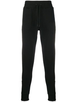 Hydrogen printed track trousers - Black