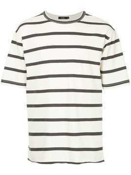 Bassike striped T-shirt - Nude & Neutrals