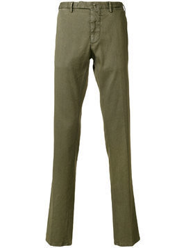 Biagio Santaniello straight-leg trousers - Green