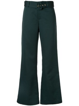 Maggie Marilyn Nothing Stopping Me flared trousers - Green
