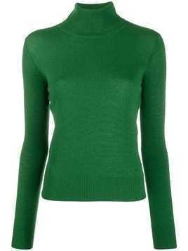 Aragona roll neck jumper - Green