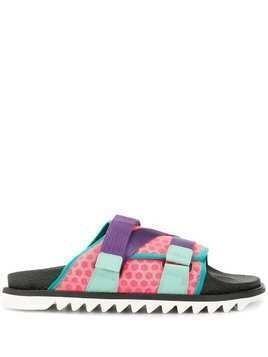 A(Lefrude)E touch strap sandals - Multicolour