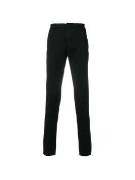 Dondup fitted tailored trousers - Black