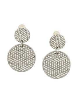Yves Saint Laurent Pre-Owned Rive Gauche Glam earrings - SILVER