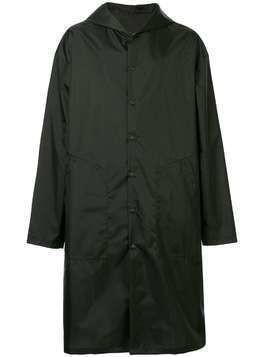 Yoshiokubo packable rain coat - Black
