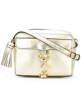 Rebecca Minkoff lobster clasp crossbody bag - Metallic