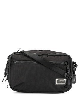 As2ov nylon mini shoulder bag - Black