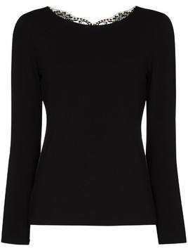 La Perla Souple lace top - Black