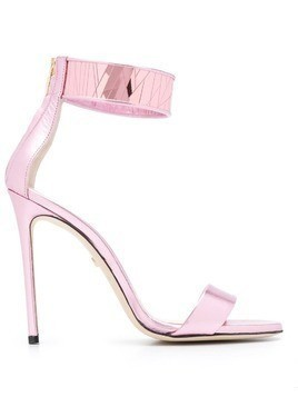 Grey Mer leather sandals - Pink