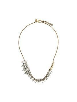 Iosselliani White Eclipse necklace - GOLD
