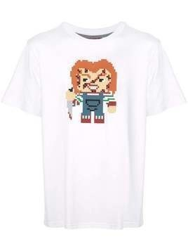 Mostly Heard Rarely Seen 8-Bit Watch Out T-shirt - White