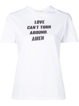 Amen printed T-shirt - White