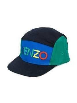 Kenzo Kids embroidered logo cap - Blue