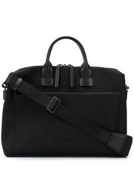Troubadour Pathfinder slim briefcase - Black