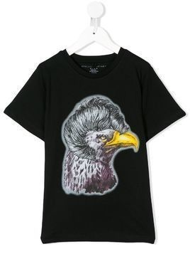 Stella Mccartney Kids Eagle print T-shirt - Black