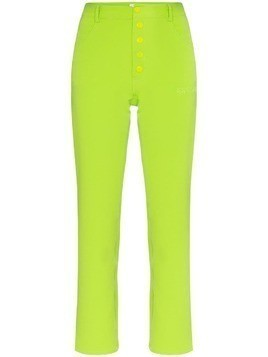 Miaou Junior slim leg trousers - Green