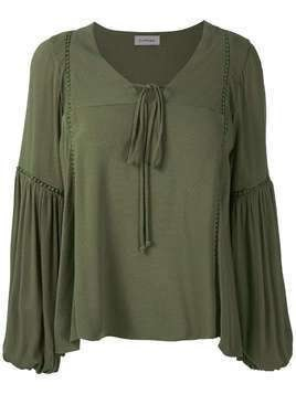 Olympiah Hagia wide sleeves blouse - Green
