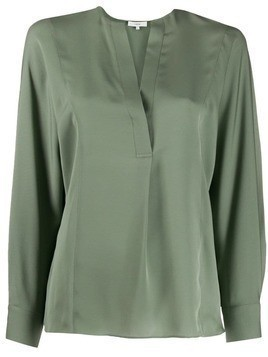 Vince crepe shirt - Green